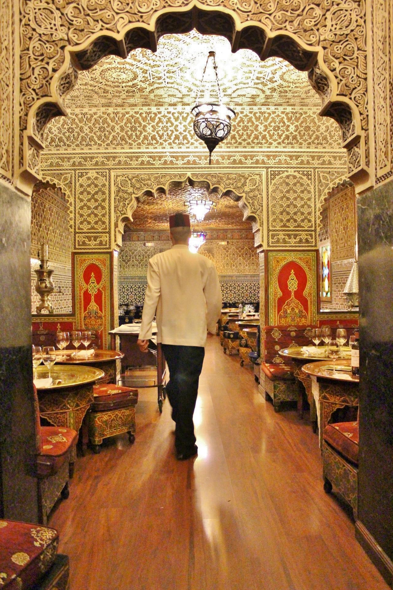 Restaurante marroqu al mounia madridmayrit - Decoracion marruecos ...